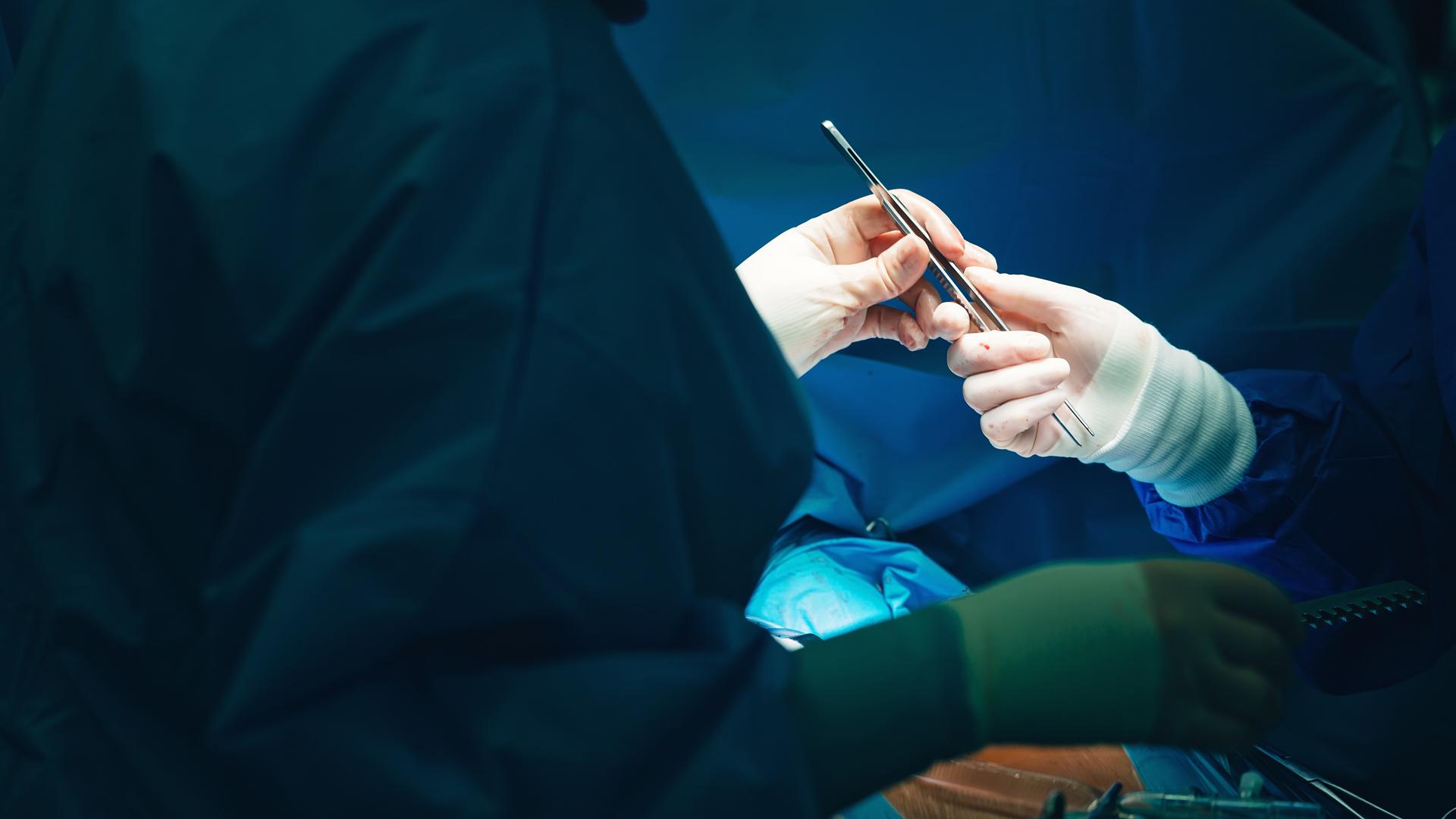 Chirurg droht Berufsunfähigkeit